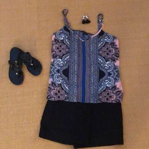 Adorable Glam camisole top NWOT